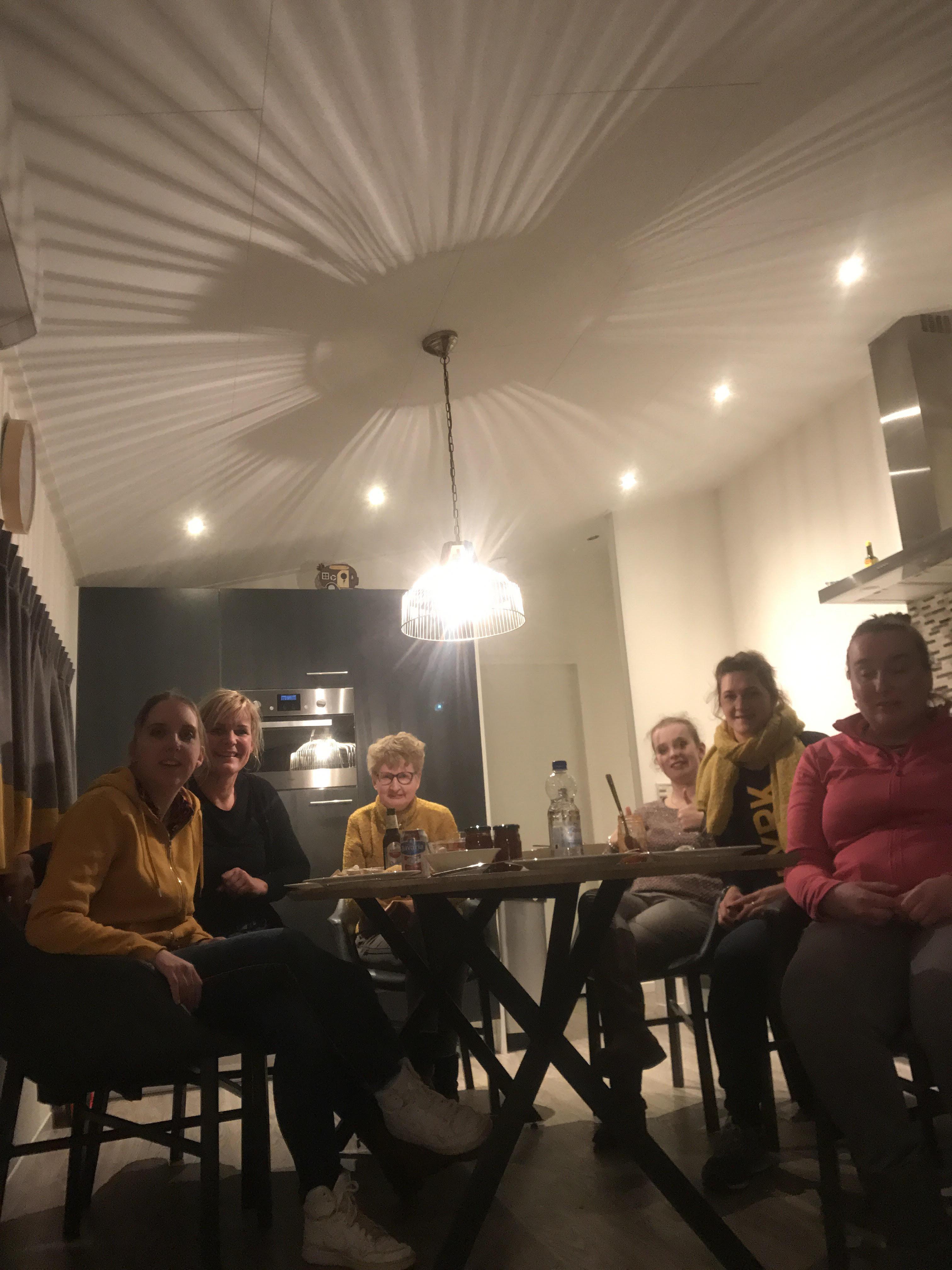 Bewonersvakantie met de dames december 2018