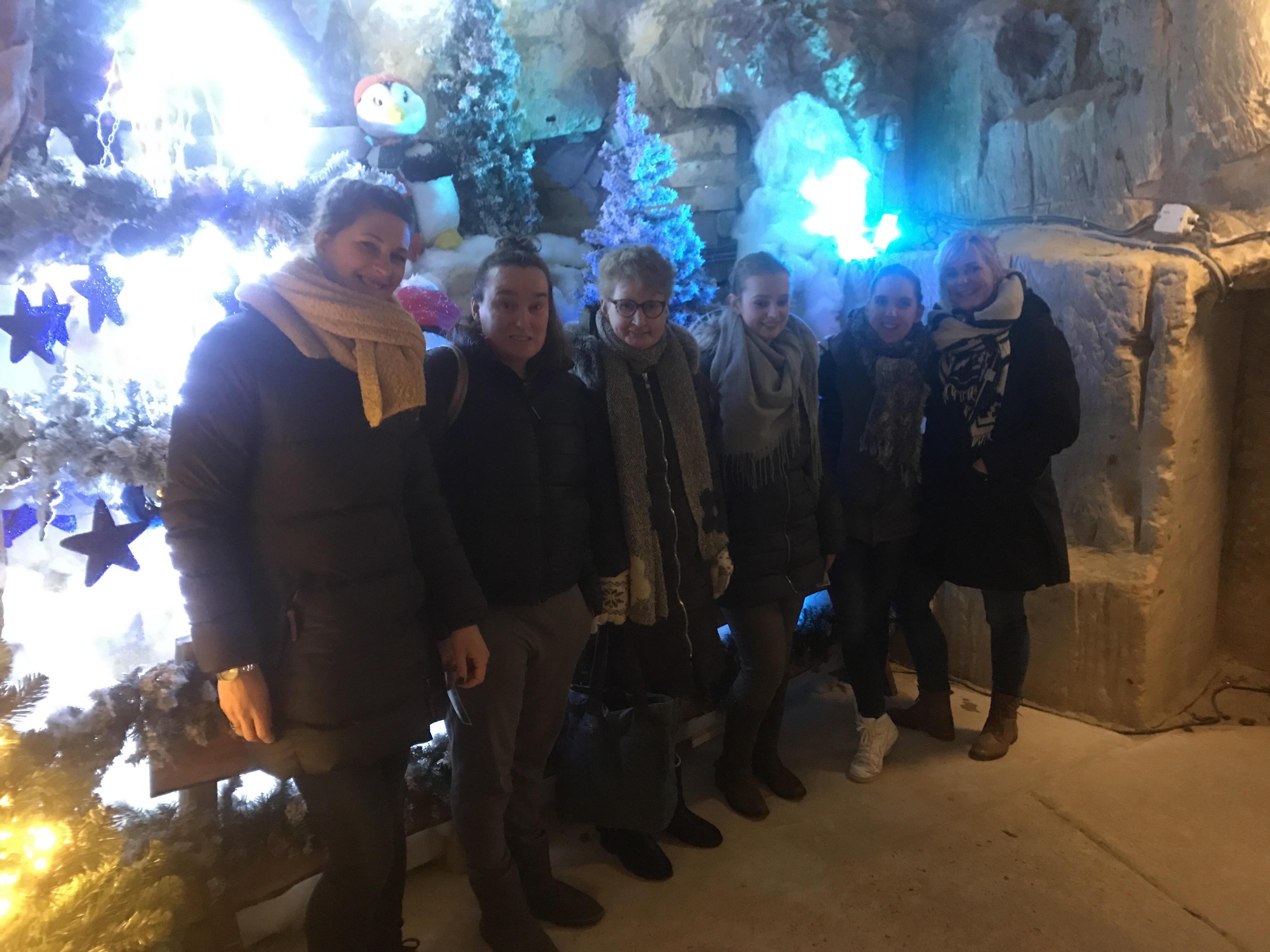 Groepsfoto Fluweelgrot Valkenburg december 2018
